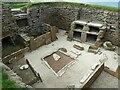 HY2318 : Skara Brae - Dwelling No.1 - View 2 by Rob Farrow