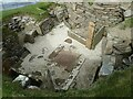 HY2318 : Skara Brae - Dwelling No.2 by Rob Farrow