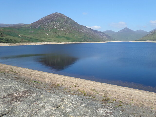 Slievenaglogh from the eastern end of the Silent Valley Dam