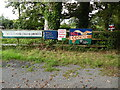 SP8903 : Anti HS2 Boards at Hunt's Green (1) by David Hillas