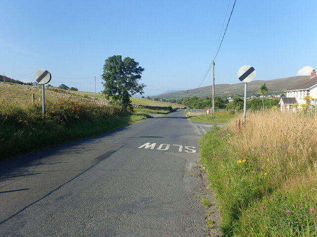 Staggered Crossroads on the Tullyframe Road at Atticall