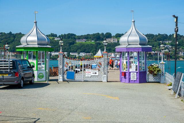 Entrance to Bangor Pier