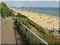 SZ1091 : Path to the beach, East Cliff, Bournemouth by Malc McDonald