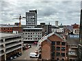 SK5904 : Leicester city centre viewed from Vestry House by Mat Fascione