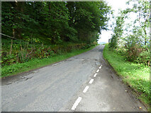 NR9383 : The B8000 road near Otter Ferry by Thomas Nugent