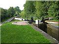 SO8556 : Worcester and Birmingham Canal - Bilford Bottom Lock by Chris Allen