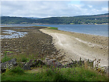 NR9284 : Oitir at Otter Ferry by Thomas Nugent