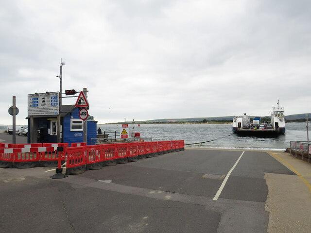 Chain ferry at Sandbanks, near Poole