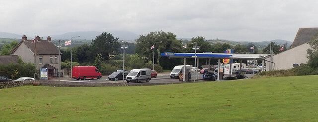 Euro Spar Service Station at Clough Roundabout