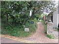 SZ0382 : South West Coast Path at Studland by Malc McDonald