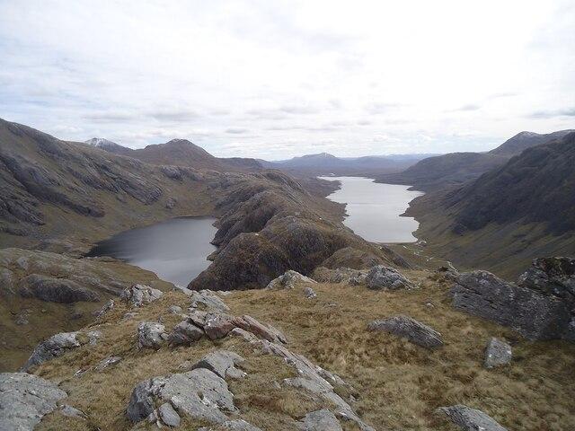 Ridge of Beinn Tharsuinn Chaol
