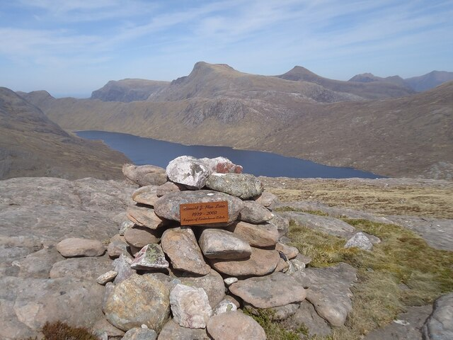 The summit of Meall Daimh
