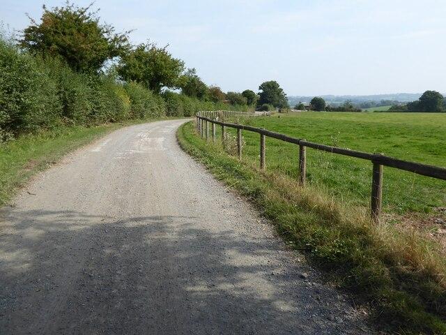 Drive to Shortwood Farm