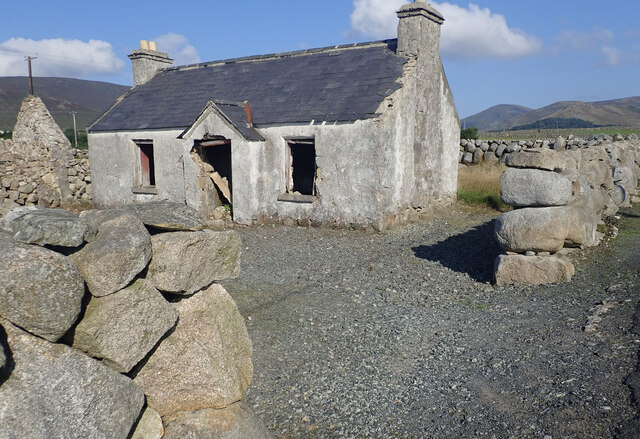 Derelict homestead on Island Road