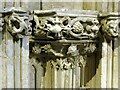 TL5480 : Capital, Alcock Chapel, Ely Cathedral by Alan Murray-Rust