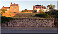 NT9928 : Houses on Tenter Hill seen from Church Street, Wooler by habiloid