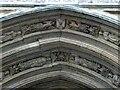TG2308 : Norwich - Erpingham Gate detail by Rob Farrow