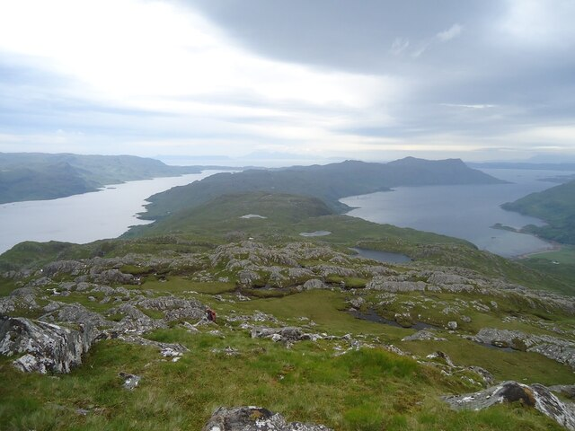 The view from Sgurr Mor