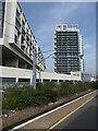 TQ3186 : Hi-rise flats, City North Place by Christine Johnstone