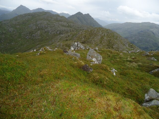 The East Top of Sgurr Breac