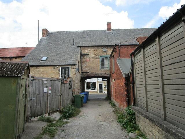 Yard off High Street, Mansfield Woodhouse
