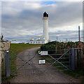 NJ2071 : Covesea Lighthouse by Ian Taylor