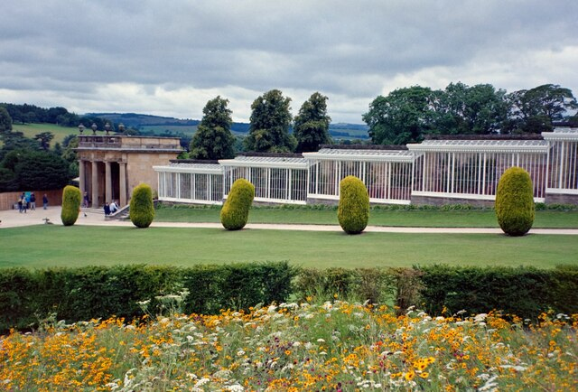 The Conservative Wall, Chatsworth House