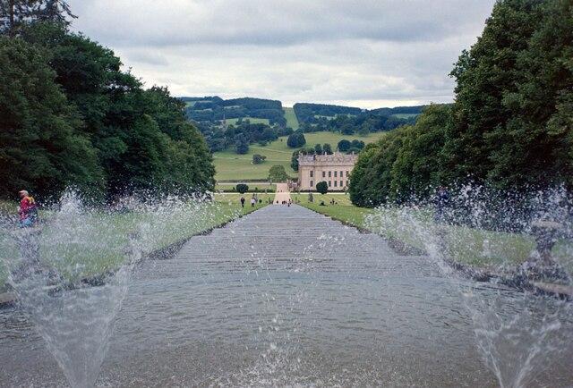 Chatsworth House Cascade