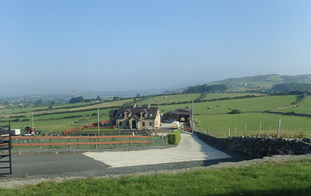Modern farmhouse off the B180 in the Townland of Moyad