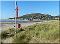 SH6114 : Dunes and beach on the Fairbourne Spit by Mat Fascione
