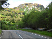 NR9976 : The A8003 road out of Tighnabruaich by Thomas Nugent