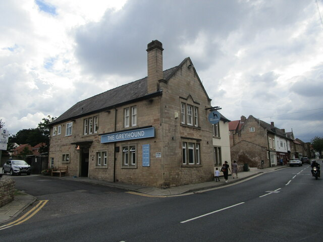 The Greyhound, Mansfield Woodhouse by Jonathan Thacker