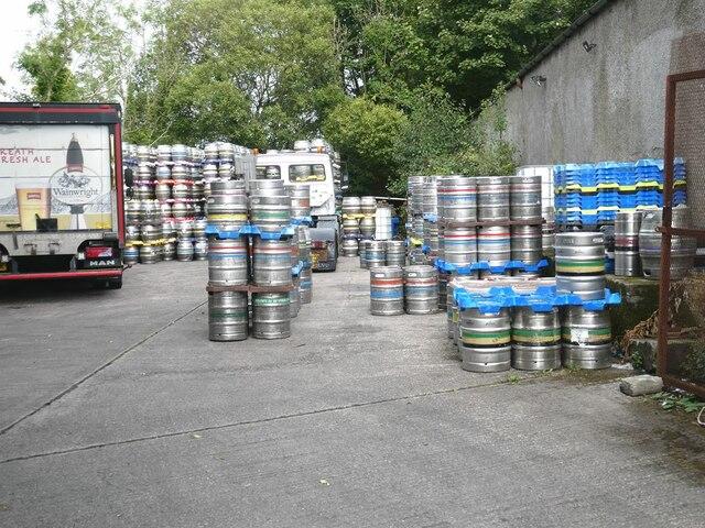 Jennings Brewery yard