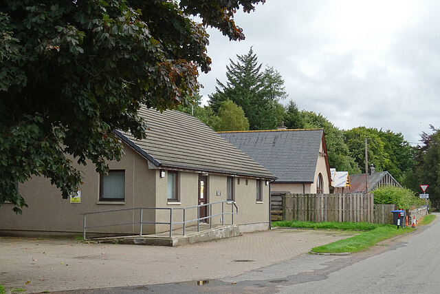 Strathdon Medical Centre by Anne Burgess