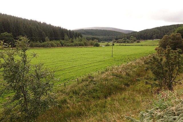 Haugh Land in Strathdon