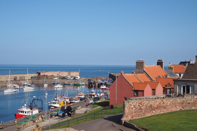 A View of Dunbar Harbour