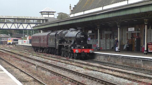 Hereford railway station