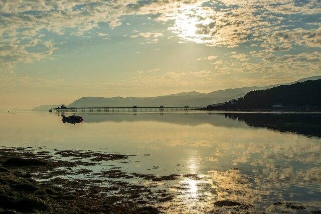 Bangor Pier from Chateau Rhianfa