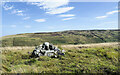 NY5756 : Summit area of Simmerson Hill by Trevor Littlewood
