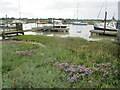 TM4975 : Boats  moored  on  the  River  Blyth  Southwold  Harbour by Martin Dawes