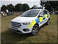 TF1310 : Police car on the John Eve Field, Market Deeping by Paul Bryan