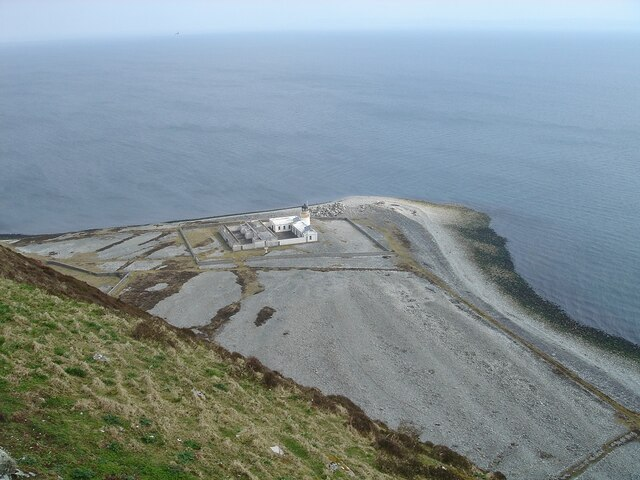 Lighthouse at Foreland Point, Ailsa Crag