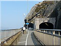 SH7478 : Wales Coast Path next to the Penmaen-bach Tunnel by Mat Fascione