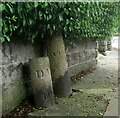 SX4657 : Old Boundary Markers on Beacon Park Road, Plymouth by T Jenkinson