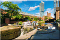 SJ8397 : Rochdale Canal at Castlefield by David Dixon