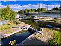 SJ8296 : Bridgewater Canal, Pomona Lock by David Dixon