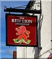 SO7010 : Red Lion name sign, Arlingham by Jaggery