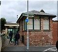 SS5533 : Former Signal Box at Barnstaple Town Station by PAUL FARMER