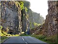 ST4754 : Cliff Road in the Cheddar Gorge by Mat Fascione