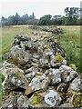 SD1798 : Extra wide, dry-stone wall by Mick Garratt